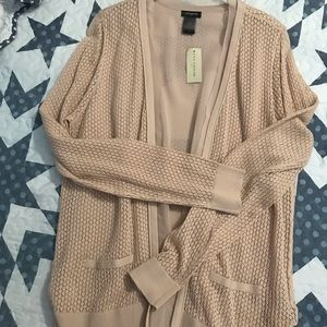 Ann Taylor Cardigan. Light weight. Beige color
